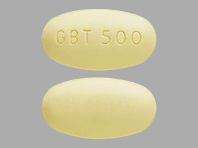 Pill Imprint GBT 500 (Oxbryta 500 mg)