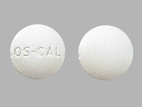 Os-Cal 500 Chewable calcium 500 mg / vitamin D3 600 IU