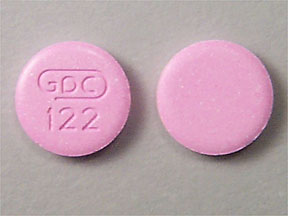Pill Imprint GDC 122 (Bismatrol bismuth subsalicylate 262mg)