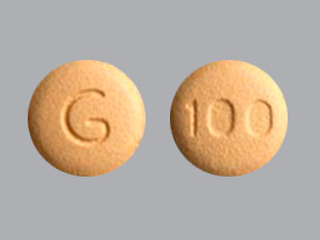 Topiramate 100 mg G 100