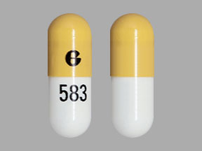 Pill Imprint G 583 (Aprepitant 40 mg)