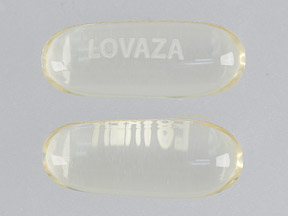 Lovaza omega-3-acid ethyl esters 1000 mg