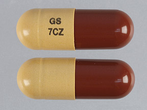 Pill Imprint GS 7CZ  (Jalyn 0.5 mg / 0.4 mg)