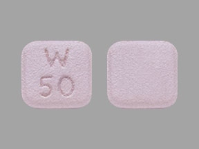 Pill Imprint W 50 (Pristiq 50 mg)