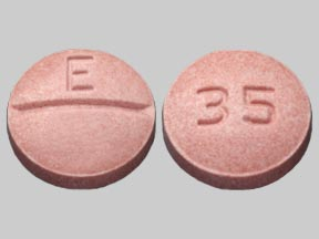 Trandolapril 1 mg E 35