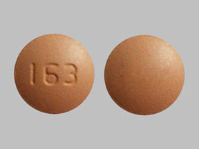 163 Peach and Round - Pill Identification Wizard | Drugs.com