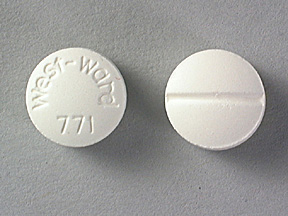 Isosorbide dinitrate 10 mg West-ward 771