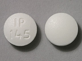 Pill Imprint IP 145 (Hydrocodone Bitartrate and Ibuprofen 7.5 mg / 200 mg)