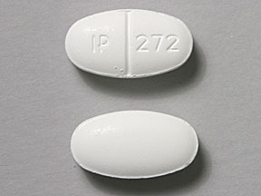 Pill Imprint IP 272 (Sulfamethoxazole and Trimethoprim DS 800 mg / 160 mg)