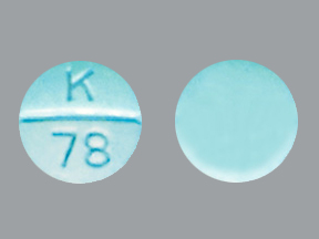 Phendimetrazine Tartrate K 78