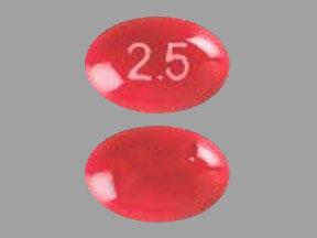 Dronabinol 2.5 mg 2.5