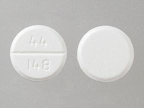 Acetaminophen 500 mg 44 148