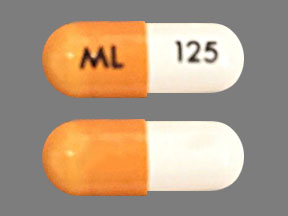 Pill Imprint ML 125 (Dofetilide 125 mcg)