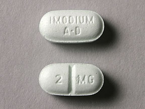 Pill Imprint IMODIUM AD 2 MG (Imodium A-D 2 mg)