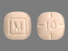 Amphetamine and Dextroamphetamine M 10