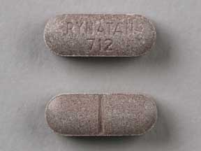 Pill Imprint RYNATAN 712  (Rynatan Pediatric 4.5 mg / 5 mg)