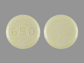 Sinemet 25-100 25 mg / 100 mg 650