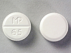 Acetazolamide 125 mg MP 65