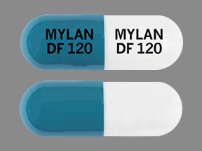 Pill Imprint MYLAN DF 120 MYLAN DF 120 (Dimethyl Fumarate Delayed-Release 120 mg)