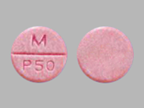 Phenytoin (Chewable) M P50
