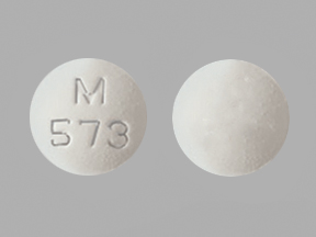 Pill Imprint M 573 (Modafinil 100 mg)
