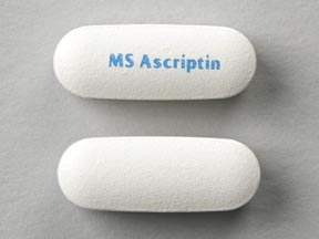 Ascriptin maximum strength buffered aspirin 500 mg MS Ascriptin