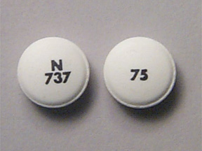 Diclofenac sodium delayed release 75 mg 75 N 737
