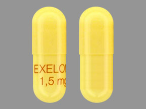 Pill Imprint EXELON 1,5mg (Exelon 1.5 mg)