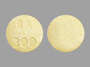 Acetaminophen and butalbital 300 mg / 50 mg BA 300
