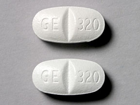 Pill Imprint GE 320 GE 320 (Factive 320 mg)
