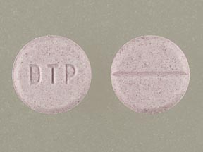 Pill Imprint DTP (Dimetapp Children's Cold & Allergy brompheniramine maleate 1 mg / phenylephrine hydrochloride 2.5 mg)