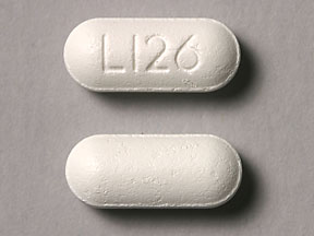 Pill Imprint L126  (EQL Pain Relief/Cold acetaminophen 325 mg / dextromethorphan 15 mg / pseudoephedrine 30 mg)