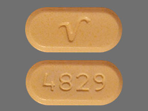 Acetaminophen and Oxycodone Hydrochloride V 4829