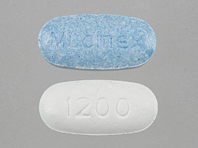 Pill Imprint Mucinex 1200 (Mucinex Maximum Strength 1200 mg)