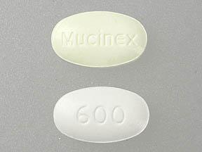 Mucinex DM dextromethorphan hydrobromide 30 mg / guaifenesin 600 mg Mucinex 600