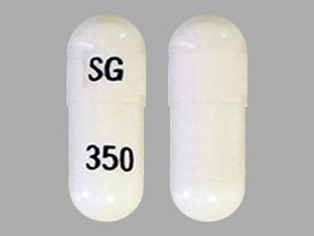 Pill Imprint SG 350 (Pregabalin 25 mg)