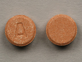 Pill Imprint A (Clarinex Reditabs 5 mg)