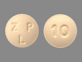 Zolpidem tartrate 10 mg ZLP 10
