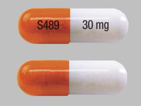 Pill Imprint S489 30 mg (Vyvanse 30 mg)