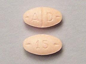 Adderall 15 mg A D 15