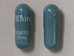 Carbatrol 100 mg Shire CARBATROL 100 mg