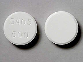 Lanthanum carbonate (chewable) 500 mg S405 500