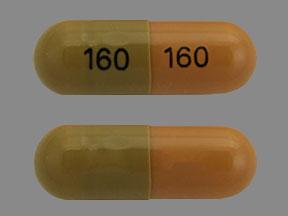 Tamsulosin hydrochloride 0.4 mg 160 160