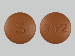 Topiramate 200 mg S 712