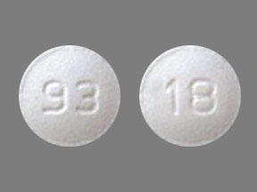 Pill Imprint 93 18 (Tolterodine Tartrate 2 mg)