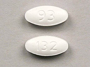 Lamotrigine (chewable, dispersible) 25 mg 93 132