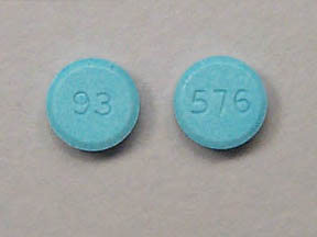 Pill Imprint 93 576 (Lovastatin 20 mg)