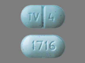 Warfarin sodium 4 mg TV 4 1716
