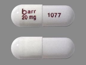 Temozolomide barr 20 mg 1077