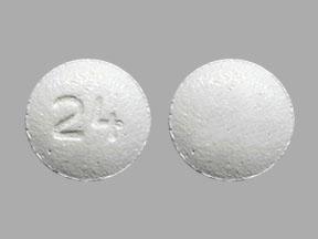 Amlodipine besylate and olmesartan medoxomil 5 mg / 20 mg 24